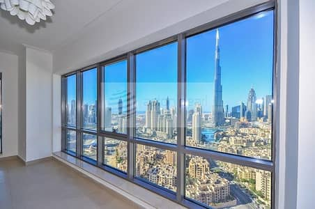 2 Bedroom Flat for Sale in Downtown Dubai, Dubai - Vacant On Transfer 2Bedroom High Floor Large Unit