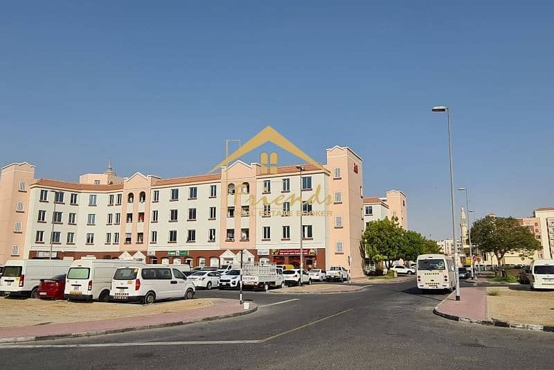 2 PERFECT LOCATION FOR SHOP IN ENGLAND CLUSTER IS FOR RENT AED22000/-YEARLY