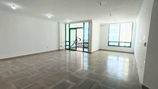 شقة 3 غرف نوم للايجار في الخالدية، أبوظبي - Extraordinary  Apartment Huge Size Balcony Gorgeous location