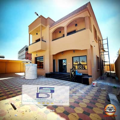 5 Bedroom Villa for Sale in Al Mowaihat, Ajman - European villa for sale at an attractive price In Al Mowaihat without down payment and bank financing The best real estate agents Owns the villa of a lifetime at a price of a shot and all the facilities Modern villa freehold without down payment At a grea