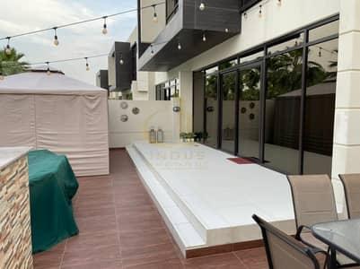 4 Bedroom Townhouse for Sale in DAMAC Hills (Akoya by DAMAC), Dubai - Single Row Upgraded 4BR+M | THL-A | Rochester Damac
