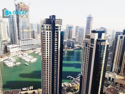 2 Bedroom Apartment for Rent in Jumeirah Beach Residence (JBR), Dubai - MARVELOUS ONE |NEVER LIVED BEOFORE |FULLY UPGRADED APARTMENT