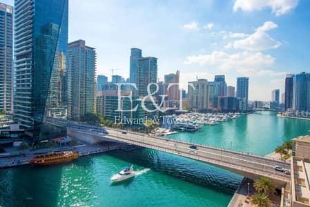 بنتهاوس 3 غرف نوم للبيع في دبي مارينا، دبي - Rare Penthouse|Upgraded|Spectacular Marina View