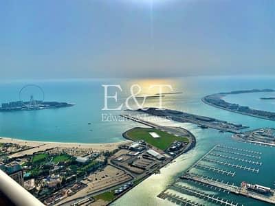 فلیٹ 4 غرف نوم للبيع في دبي مارينا، دبي - Breathtaking Sea and Marina View | 4 Beds + Maids