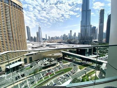 فلیٹ 1 غرفة نوم للايجار في وسط مدينة دبي، دبي - All Bills | Burj Khalifa View | Available Now
