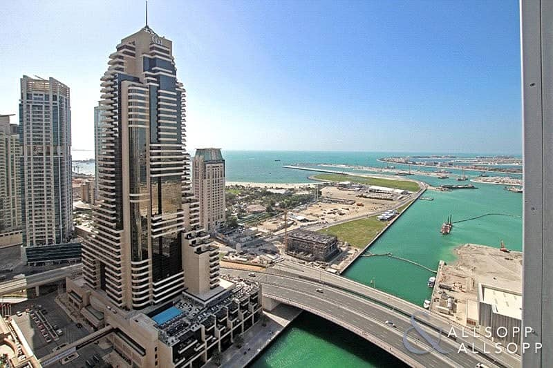 1 Bed   Cayan Tower   Water View   Balcony