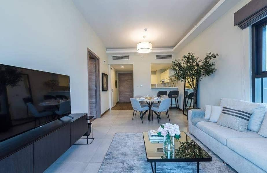 13 Furnished Apartment  Near Downtown  3000 aed  monthly  7 years PP
