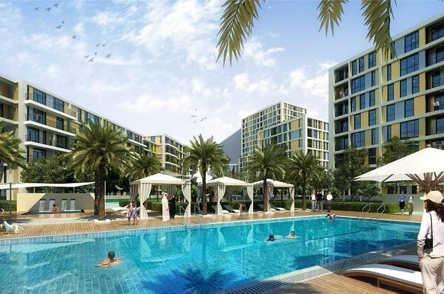 10 1 BR furnished |Pay 10% only and move in| 10 years post handover