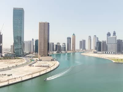 2 Bedroom Flat for Rent in Business Bay, Dubai - Beautiful View|Fully Furnished | Largest Layout
