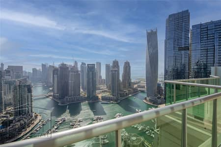 بنتهاوس 3 غرف نوم للبيع في دبي مارينا، دبي - Duplex Penthouse | Full Marina