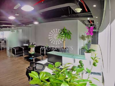 Office for Sale in Business Bay, Dubai - Fully Furnished Office Grade A Tower