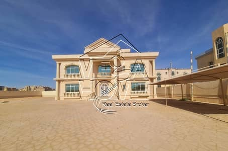 7 Bedroom Villa for Rent in Khalifa City A, Abu Dhabi - STAND ALONE VILLA BIG GARDEN OUTSIDE KITCHEN/DRIVER ROOM