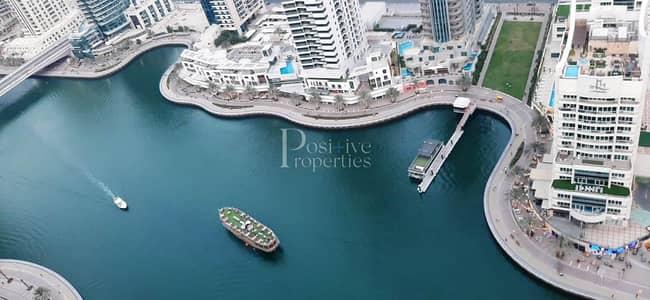 3 Bedroom Apartment for Rent in Dubai Marina, Dubai - Chiller Free|+1 Month Free| Marina views| Vacant