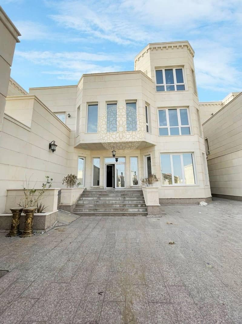 STONE FINISHED SUPER DELUXE 8 MASTER BEDROOM INDEPENDENT VILLA WITH DRIVER ROOM FOR RENT IN KHALIFA CITY A