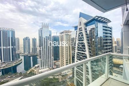 Studio for Sale in Jumeirah Lake Towers (JLT), Dubai - High Floor | Lake View | Furnished | Metro Access