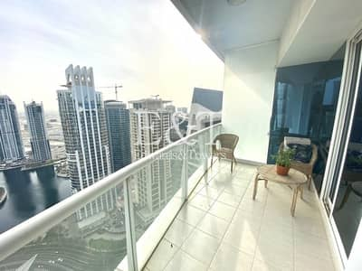 1 Bedroom Flat for Rent in Jumeirah Lake Towers (JLT), Dubai - Fully Furnished   Lake View   High Floor