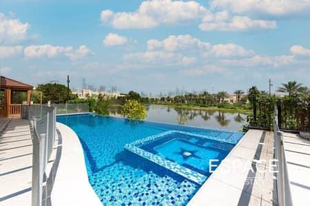 4 Bedroom Villa for Sale in Jumeirah Islands, Dubai - Lake and Dubai Marina Skyline Views | EF