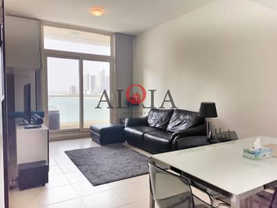 1 Bedroom Apartment for Rent in Al Reem Island, Abu Dhabi - Fully furnished 1BR  | sea view | balcony