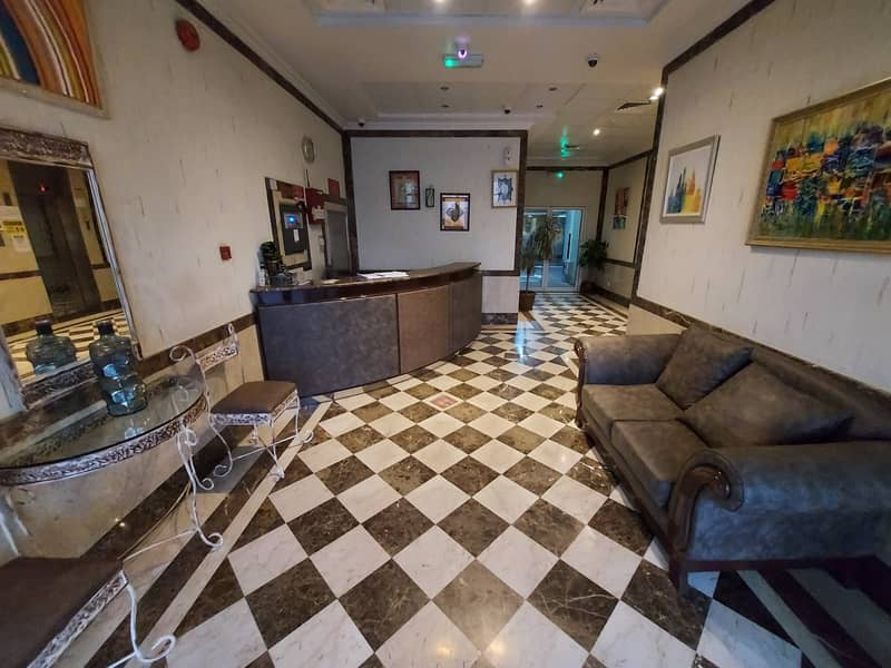 Central A/C | Spacious 1 BR Apartment | Gym | Free Parking | Free Maintenance