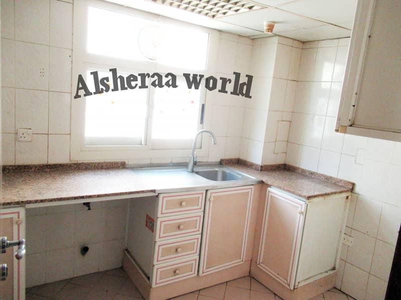 4 2BEDROOM HALL 1 BATHROOM CENTRAL AC WITH PARKING GOOD BUILDING FAMILY ONLY OPC AREA BUR DUBAI