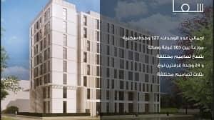 شقة 1 غرفة نوم للبيع في المدينة الجامعية بالشارقة، الشارقة - Own your apartment without down payment in Sharjah city walk ??? ?????  ?? ??????? ???? ???? ????