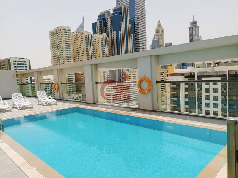 BRAND NEW WITH COVERED PARKING WITH SWIMMING POOL GYM NEAR TO METRO STATION
