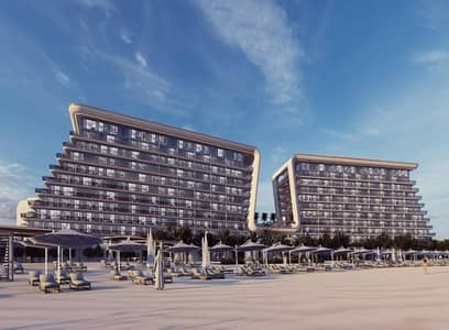 1 Bedroom Flat for Sale in Yas Island, Abu Dhabi - Own 1 BR In Yas Island at  Beach Front | Direct Access to the Sea | Infinity Pool