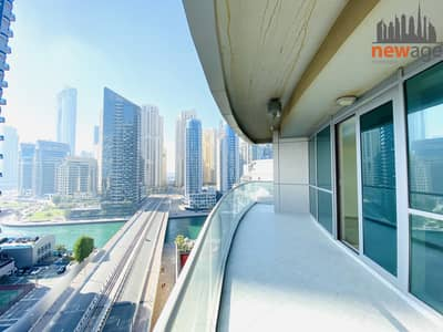 2 Bedroom Apartment for Sale in Dubai Marina, Dubai - Marina View 2 bedroom For sale in The Waves Tower