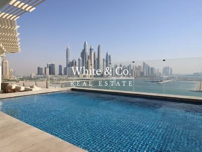 3 Bedroom Penthouse for Rent in Palm Jumeirah, Dubai - Panoramic View Penthouse | Pool | Jacuzzi