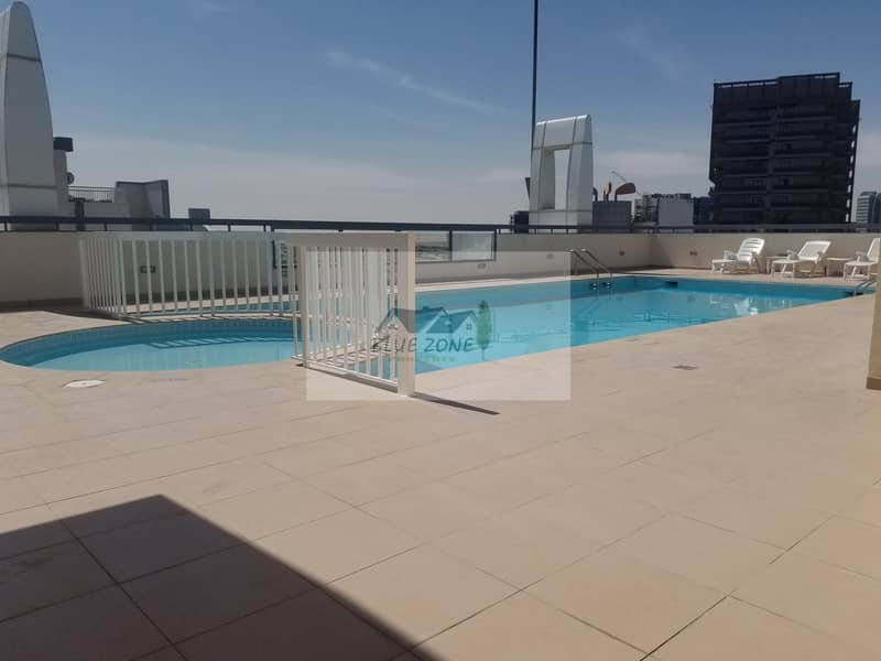 12 STUDIO WITH BALCONY CLOSE KITCHEN OPEN VIEW 1 PARKING POOL GYM 24K