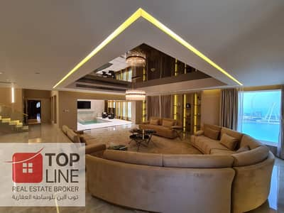 4 Bedroom Penthouse for Sale in Jumeirah Beach Residence (JBR), Dubai - Beautiful Fully Furnished Modern Penthouse   Genuine