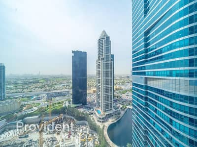 Office for Rent in Jumeirah Lake Towers (JLT), Dubai - Furnished Office | High Floor | Well Set Space