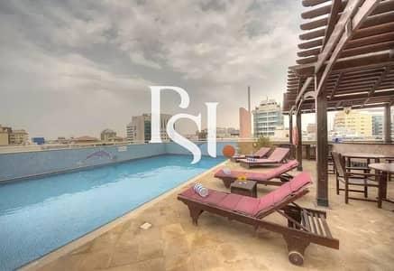 شقة فندقية 2 غرفة نوم للايجار في البرشاء، دبي - Fully Furnished/All bills included/Monthly Payment