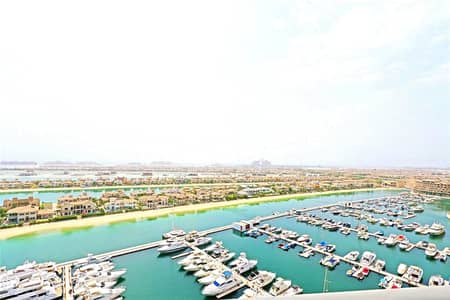 2 Bedroom Apartment for Sale in Palm Jumeirah, Dubai - High Floor | Full Uninterrupted Views | 2 Bedrooms