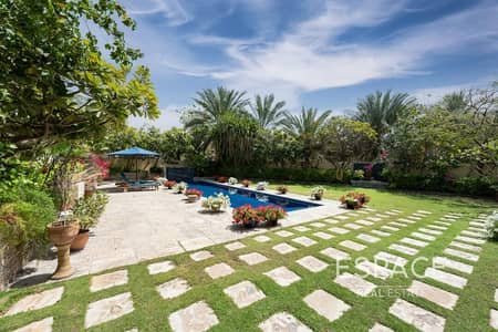 5 Bedroom Villa for Sale in The Meadows, Dubai - Stunning 5BR | Amazing Plot and Skyline View