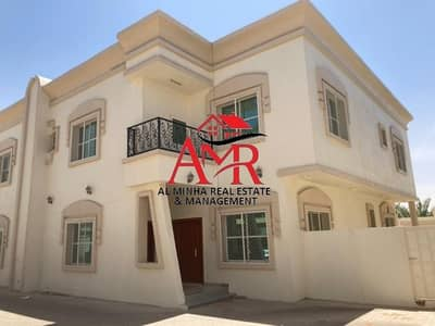4 Bedroom Villa for Rent in Zakher, Al Ain - Stunning Duplex Villa with Balcony & Private Back Yard