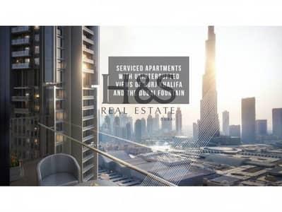 2 Bedroom Apartment for Sale in Downtown Dubai, Dubai - Full Burj Khalifa View | Furnished | Luxury Living @ Vida Residence
