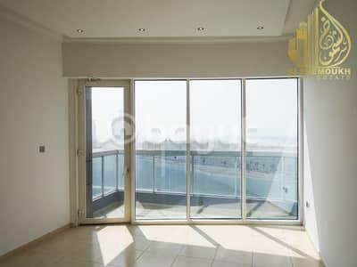 فلیٹ 1 غرفة نوم للايجار في الخان، الشارقة - Sharjah Khan Beach Tower 1 clean and wonderful tower barking for free. there is balcony