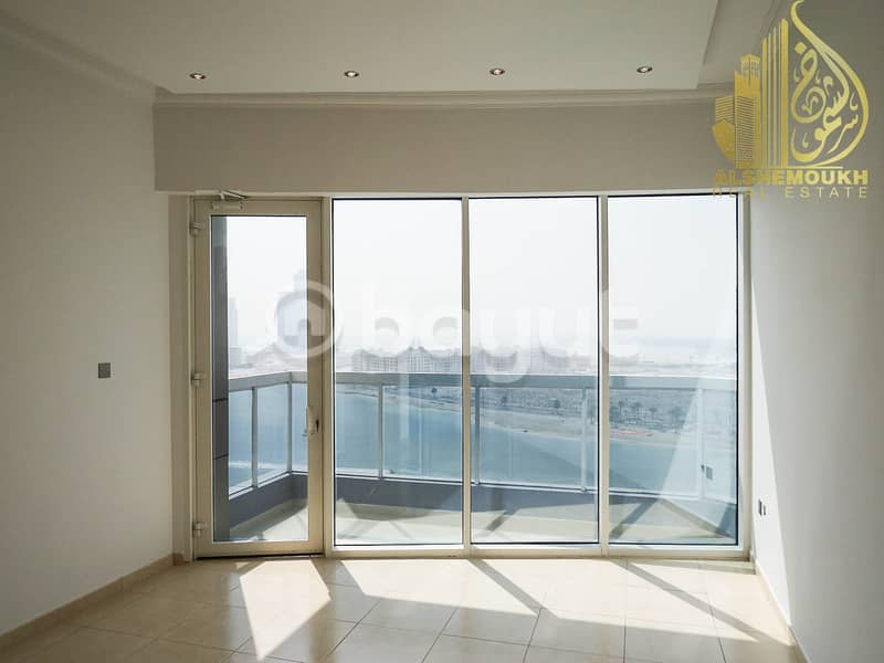 Sharjah Khan Beach Tower 1 clean and wonderful tower barking for free. there is balcony