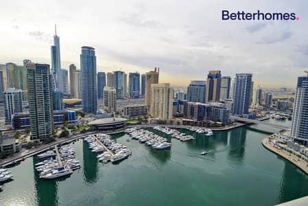3 Bedroom Flat for Sale in Dubai Marina, Dubai - Exclusive | Full marina views | High floor