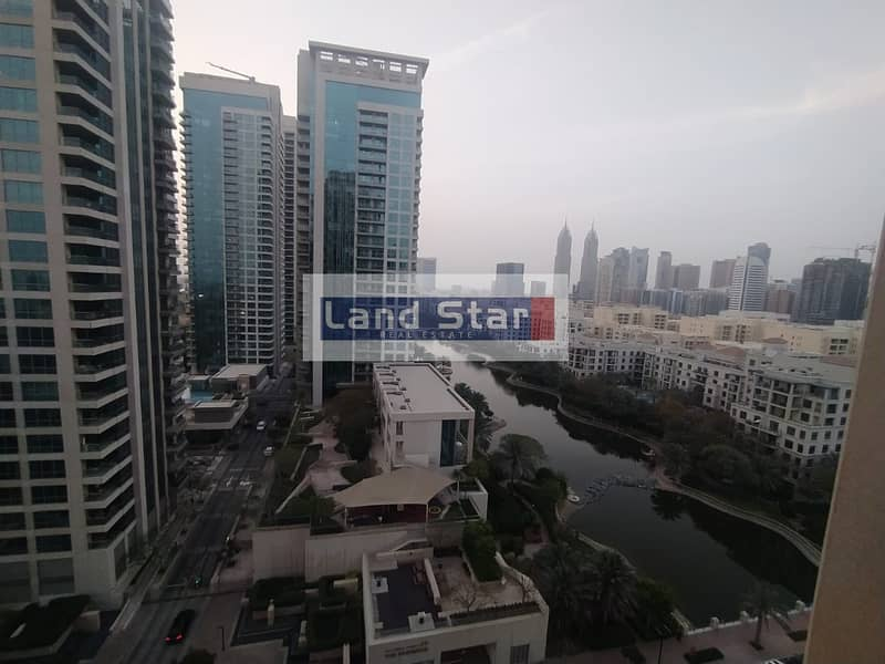 Canal View / Unfurnished/ 1BR/ Ready to Move