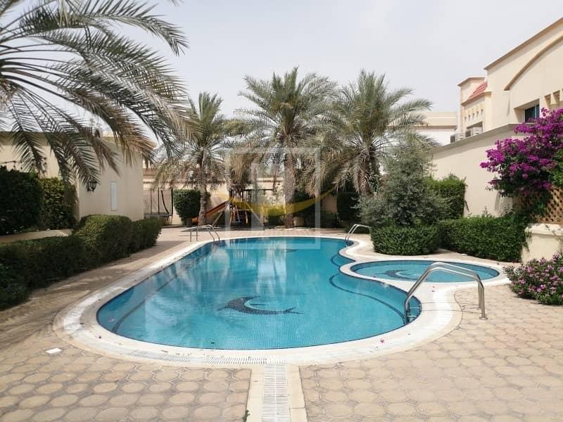 2 Spacious 4Br + M| Bright & White Compound Villa | Al Safa 2