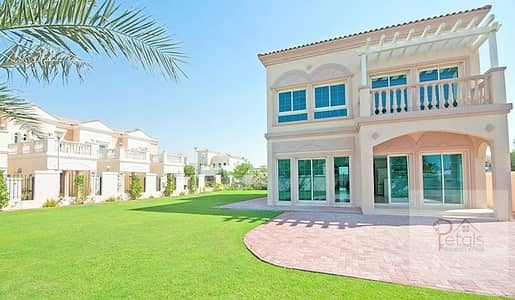 2 Bedroom Villa for Sale in Jumeirah Village Triangle (JVT), Dubai - Big Plot - 2 Bedroom + Maid Villa