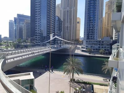 1 Bedroom Apartment for Rent in Dubai Marina, Dubai - Beautiful Marina View, 1 BR. Vacant from May