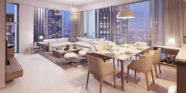 فلیٹ 3 غرف نوم للبيع في وسط مدينة دبي، دبي - 3 BHK | Below OP | High floor | 3 Beds Forte