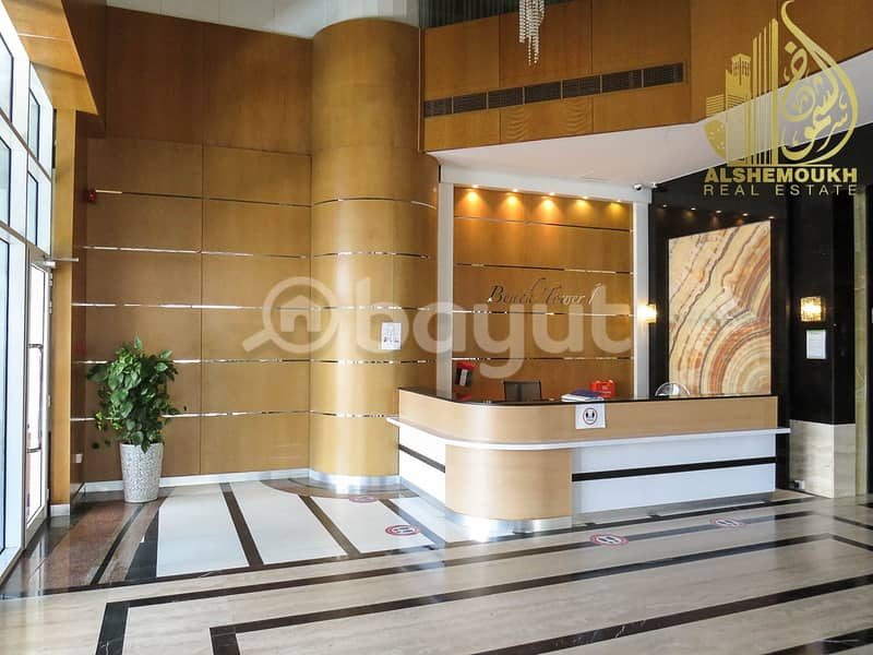 40 alkhan/beach tower 1/balcony/parking free/nice view