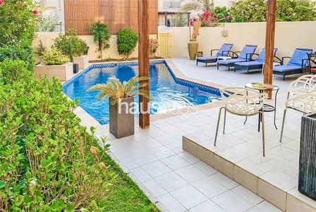 3 Bedroom Townhouse for Sale in The Springs, Dubai - EXCLUSIVE Fully upgraded || 4 beds || Private pool