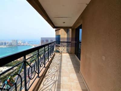 3 Bedroom Apartment for Sale in Dubai Marina, Dubai - Vacant | Sea & Marina View | High Floor