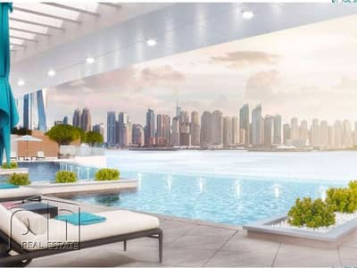 Hotel Apartment for Sale in Palm Jumeirah, Dubai - Re Sale | Ready Q3 201 | Sea View Studio