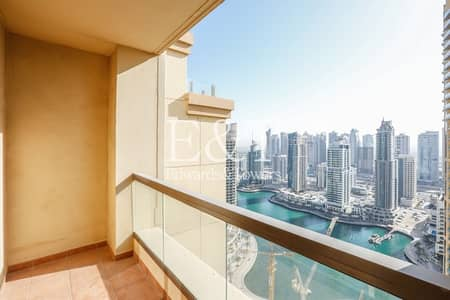 2 Bedroom Apartment for Rent in Jumeirah Beach Residence (JBR), Dubai - Largest Layout with Storage | Marina View